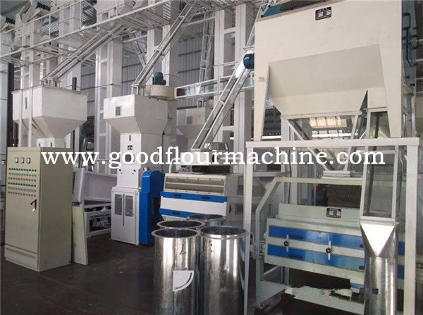 80-100tons of rice mill machine from cleaning to huller mach