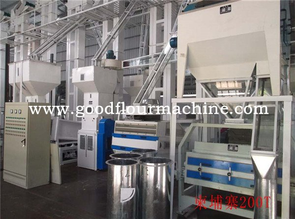 200tons of rice mill machine plant