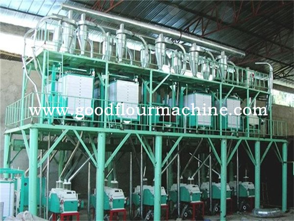 40tons of wheat flour mill machine plant