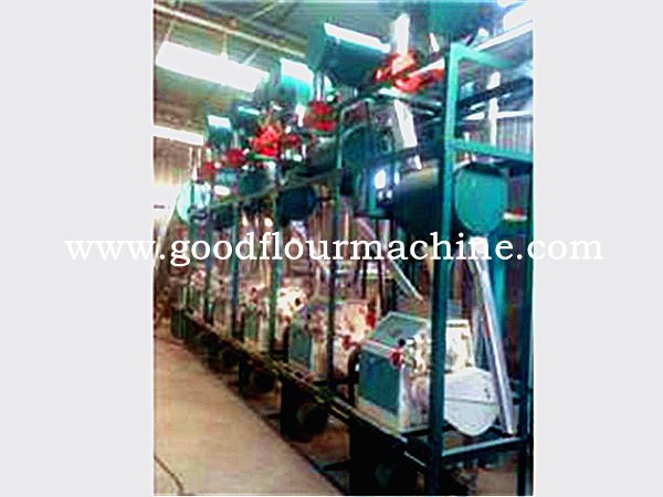 30tons of wheat flour mill machine complete plant with horiz