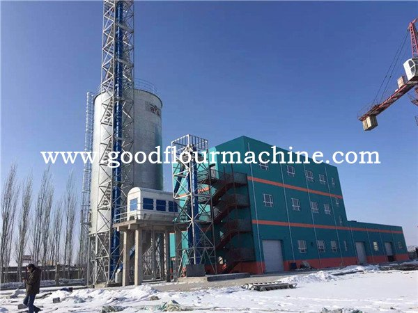 <b>100tons of wheat flour mill machine from silo to flour produ</b>