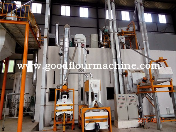 100tons of maize flour mill machine plant