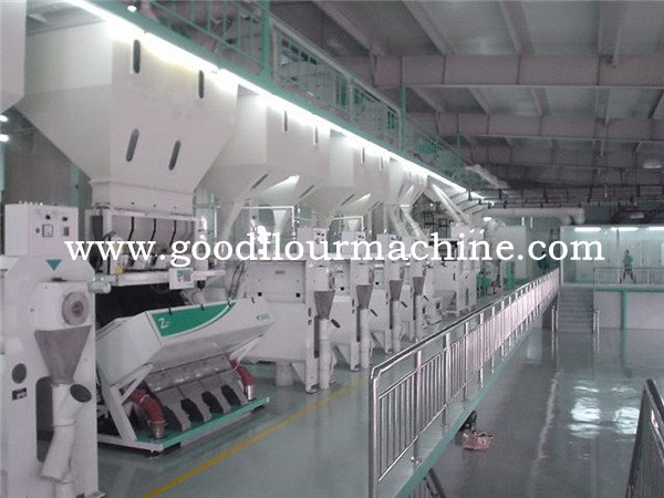 120tons of rice mill machine plant