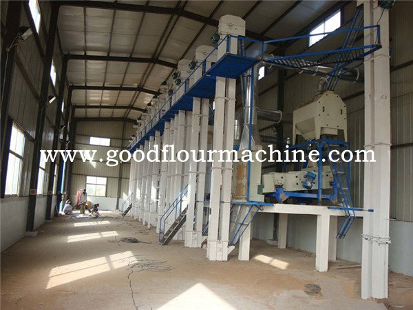 200TPD of rice mill machine complete plant