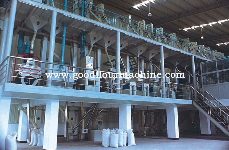120tons of rice mill machine complete plant