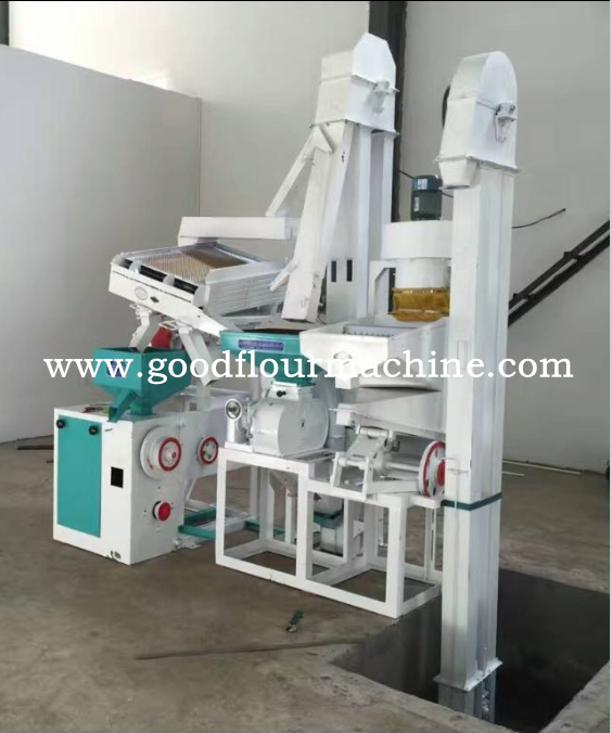 15TPD RICE MILL MACHINE PLANT